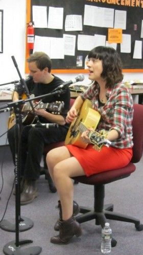 Paper Aeroplanes on WP88.7 FM