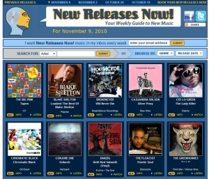 chromatic BLaCK featured on New Releases Now!