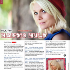 Hafdís Huld Interview in IAE Magazine