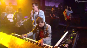"""Watch Fun. Perform """"We Are Young"""" On The Late Show"""