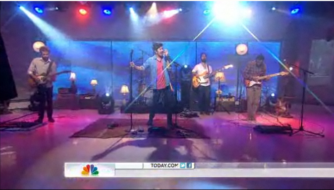 Young The Giant on The Today Show