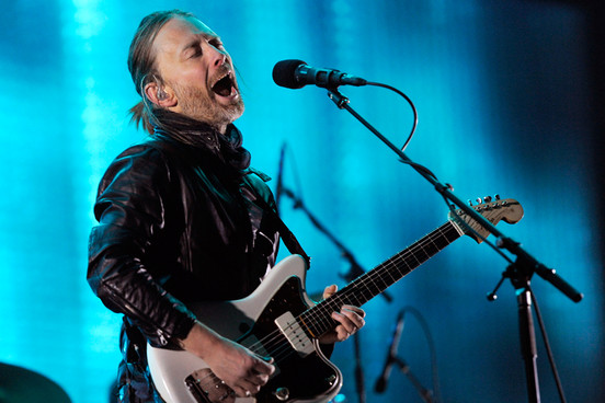 Tom York of Radiohead