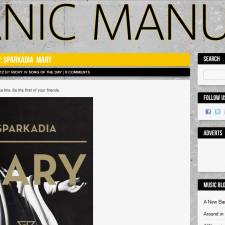 "Sparkadia's ""Mary"" Is Song Of The Day On Panic Manual"