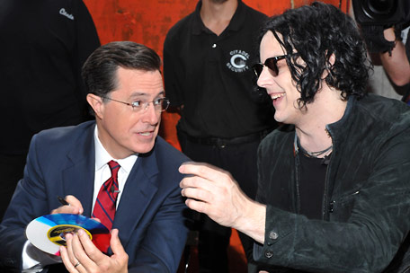 jack white stephen colbert