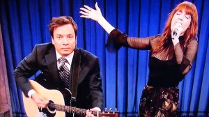 "Jimmy Fallon Brings Back ""Balls In Your Mouth"" With Florence Welch"