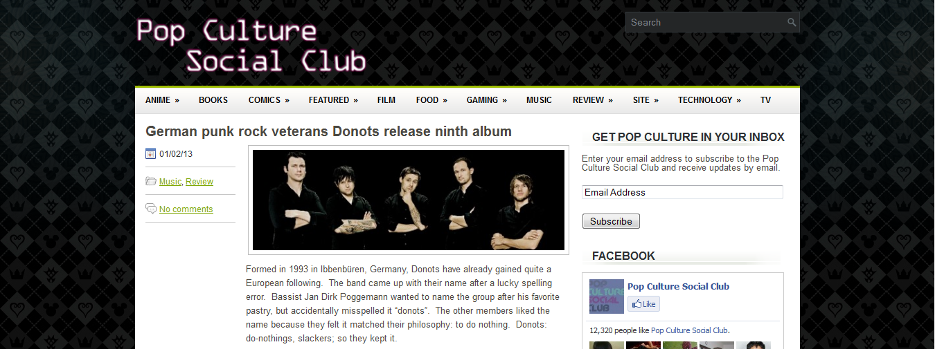 Pop Culture Social Club Review The Donots' Wake The Dogs
