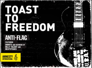 """Donots Featured On Anti-Flag's """"Toast To Freedom"""""""