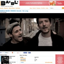 Baeble Music Features The Donots Video &#8220;So Long&#8221;