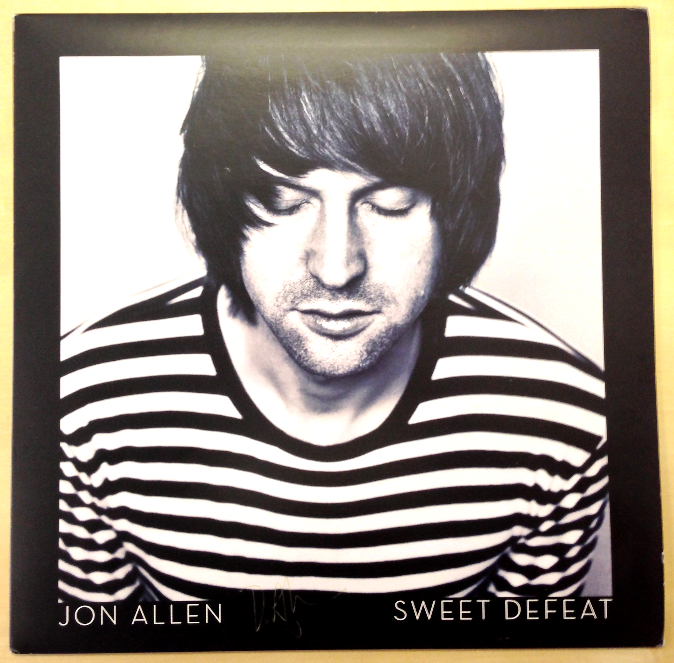 WIN A Limited Edition Jon Allen Vinyl