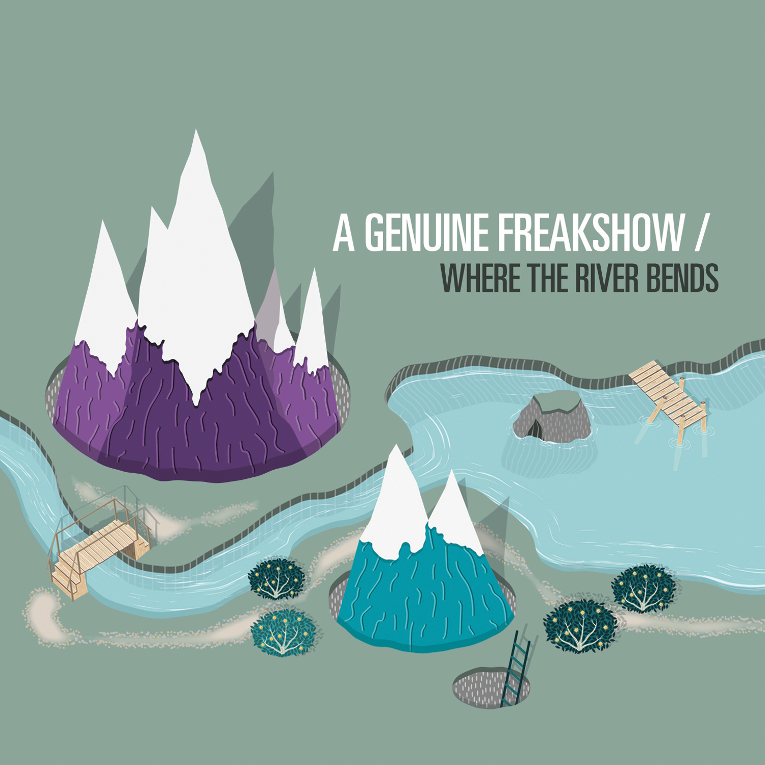 A Genuine Freakshow - Where The River Bends (EP)