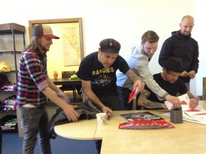 WIN An Autographed Donots Poster