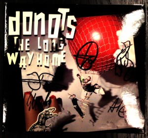 donots - the long way home (signed)