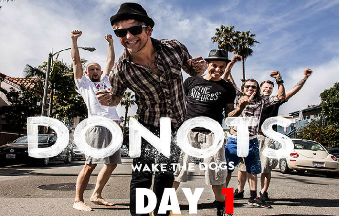 Donots Post New Tour Diary Video
