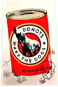 Autographed Donots Merch Now Available