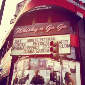 Donots Played Their First US Show At Whisky A Go Go!