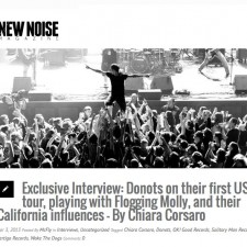 Donots Interviewed By New Noise Magazine