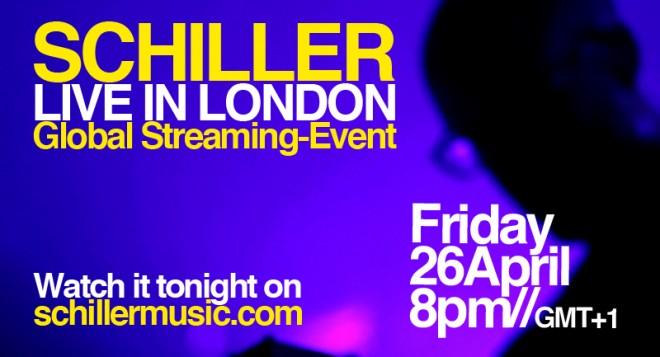 schiller live in london