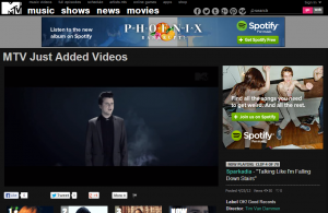 """Sparkadia's """"Talking Like I'm Falling Down Stairs"""" Video Now Featured On MTV.com"""