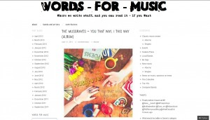 "Words For Music Reviews The Musgraves' ""You That Way I This Way"""