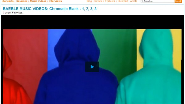 "chromatic BLaCK's ""1,2,3,8″ A ""Current Favorite"" On Baeble Music"