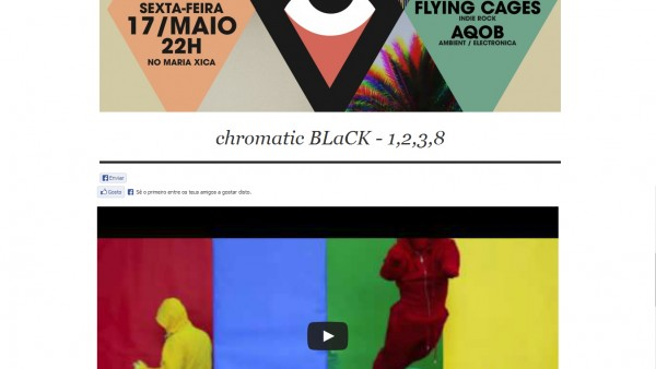 "Videopick Features chromatic BLaCK's ""1,2,3,8″ Video"