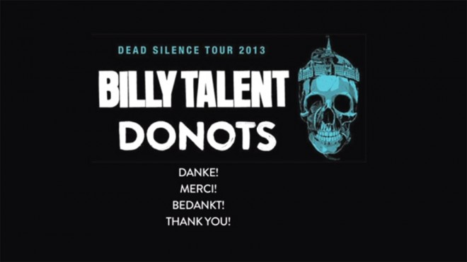 donots billy talent
