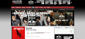 """Sputnikmusic Review Donots' """"Wake The Dogs"""""""