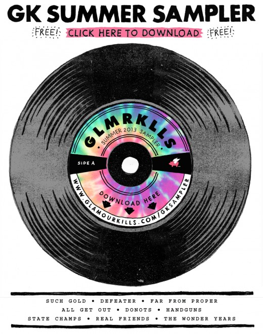 Check Out The Donots On Glamour Kills' Summer Sampler