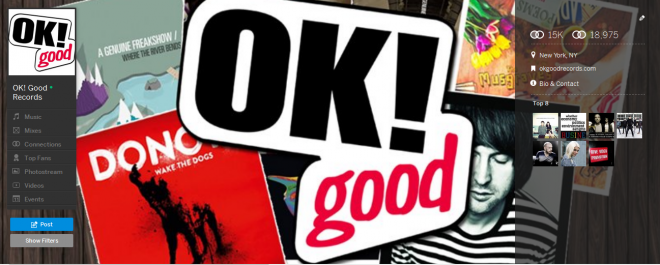 OK! Good Records Is On The New MySpace