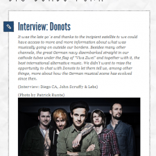 Big Bombo Punk Interviews Ingo From The Donots