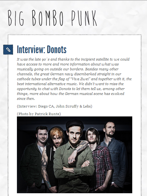 donots interview