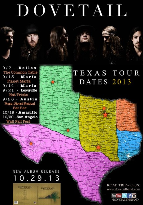 dovetail texas tour