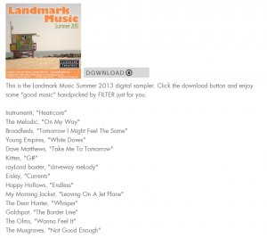 The Musgraves Featured on Filter Mag's Summer Sampler