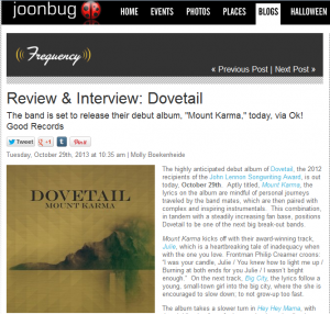 Joonbug Features Dovetail