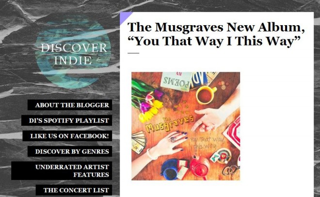 discover indie the musgraves