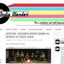 Dovetail are Indie Blender's Flavor of the Week
