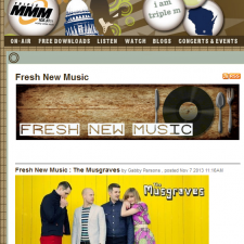 1055 Triple M Radio Features The Musgraves