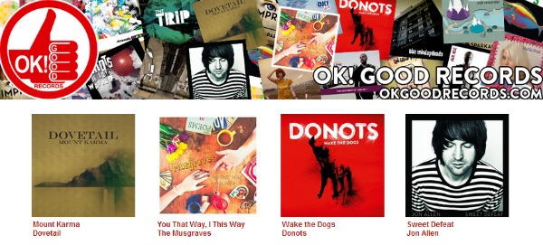 Ok! Good Records Bandcamp