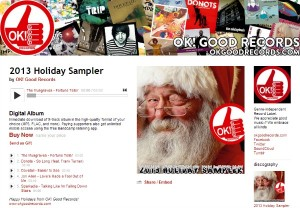 2013 Holiday Sampler Available For FREE On Bandcamp!