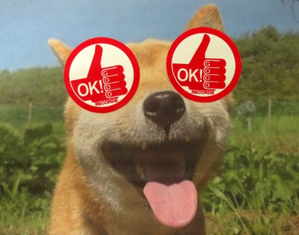 Free Ok! Good Records Stickers Now Available!