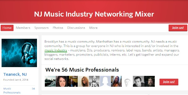 Ok! Good Records Sponsoring New Jersey Music Industry Networking Event