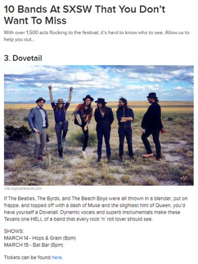 Dovetail Named #3
