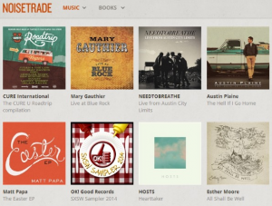 Ok! Good Records SXSW Sampler Featured On Front Page Of NoiseTrade!