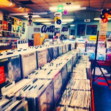 Record Shopping in Austin