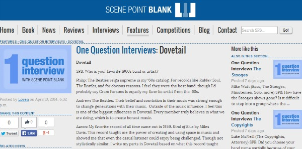Dovetail Interview Scene Point Blank
