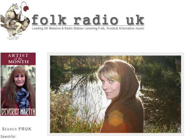 Hafdis Huld Song of the Day on Folk Radio UK