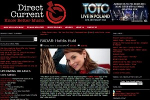 Hafdis Huld Featured on Direct Current's Radar!
