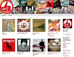 All Ok! Good Records Merch is Now on BandCamp!