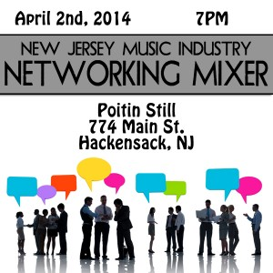 Ok! Good Records Sponsoring NJ Music Industry Networking Mixer TONIGHT!