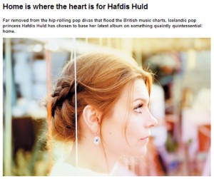Hafdis Huld Featured on Windsor Express UK